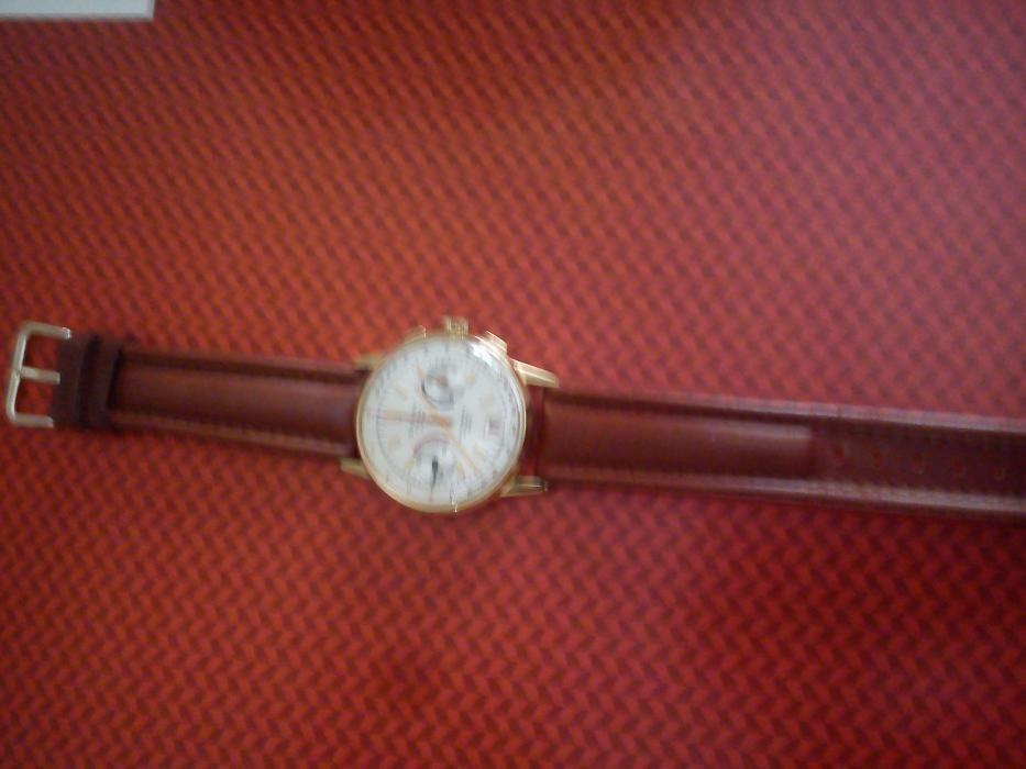 Relógio Cauny Cronógrafo (Raro)