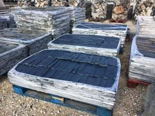Tiras pedra xisto preto Benedita - imagem 7