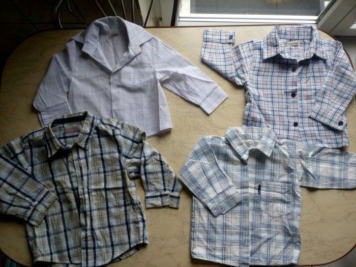 Koszule chłopięce 74 80 Konieczki • OLX.pl  3OHwm