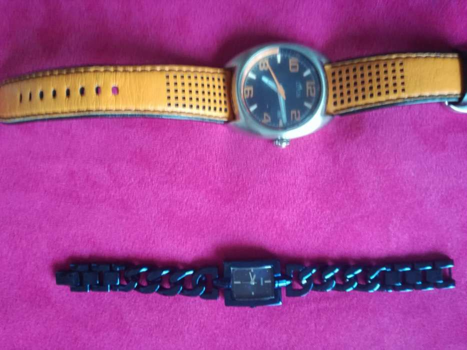 6957acab3fa Relógios Guess e Lotus