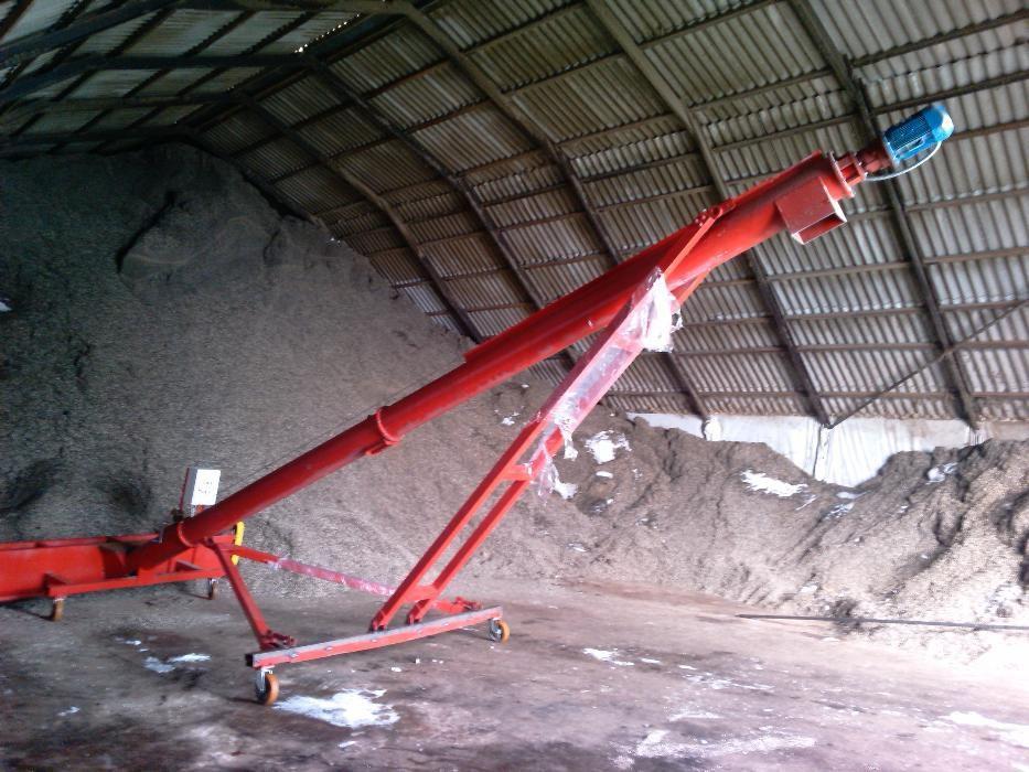 наклонные транспортеры для зерна