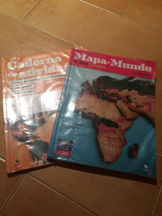 Manual escolar Geografia 9º ano