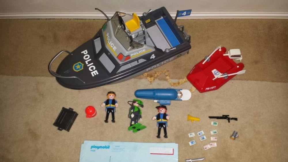 Playmobil Barco Polícia