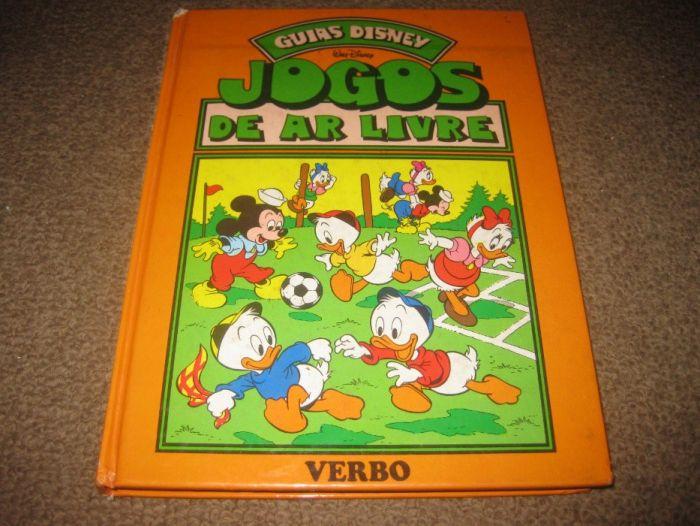 """Livro """"Jogos de Ar Livre"""" da Walt Disney Trofa - imagem 1"""