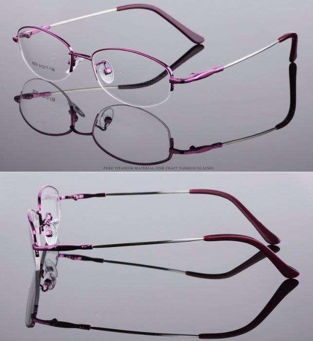 37893c07b30bb Armação - Óculos de titânio para lentes graduadas, NOVOS, roxo Vila de  Prado -