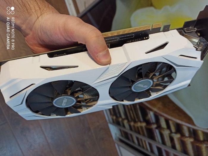 GeForce GTX 1060 Asus Dual 6GB OC Edition( ГАРАНТИЯ)