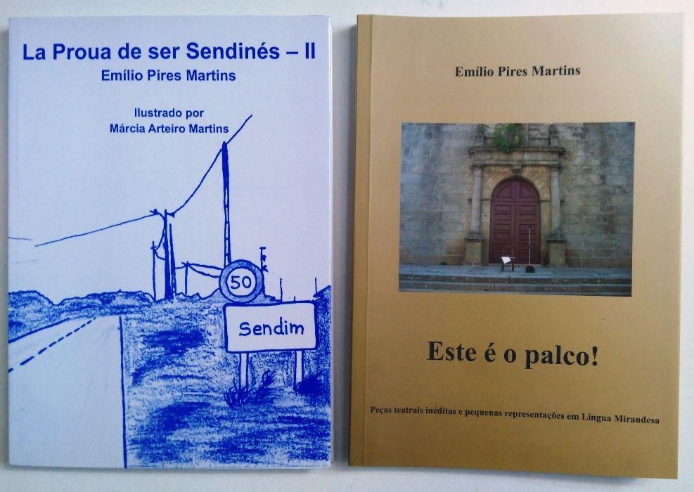 (5) Vários livros novos, mirandês, Miranda do Douro, Sendim