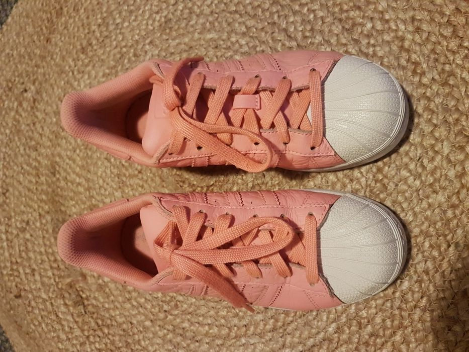 OFERTA PORTES Ténis Adidas Superstar Rosa Coral Ed.Especial