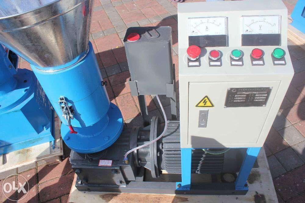 Máquina de fazer pellets - pelletizadora - R200 - Nova - 7,5kw