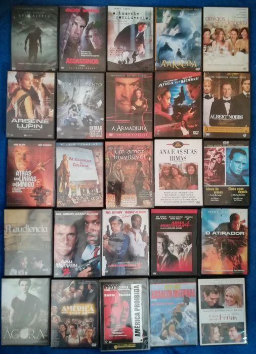 Lote 155 DVD's originais (Lote 12)