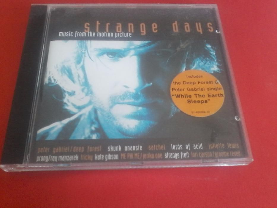 Strange Days motion picture soundtrack Boliqueime - imagem 1