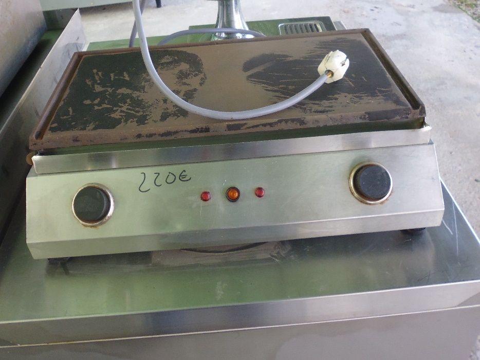Chapa eletrica para grelhados
