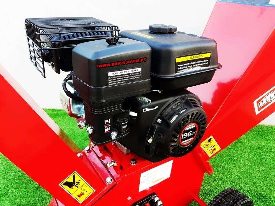 Biotrituradores Novos - Motor 6.5 cv Gasolina -Tritura Até 10cm Gondomar - imagem 6