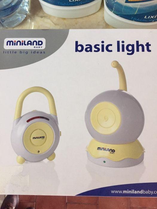 Intercomunicador Miniland Baby como novo