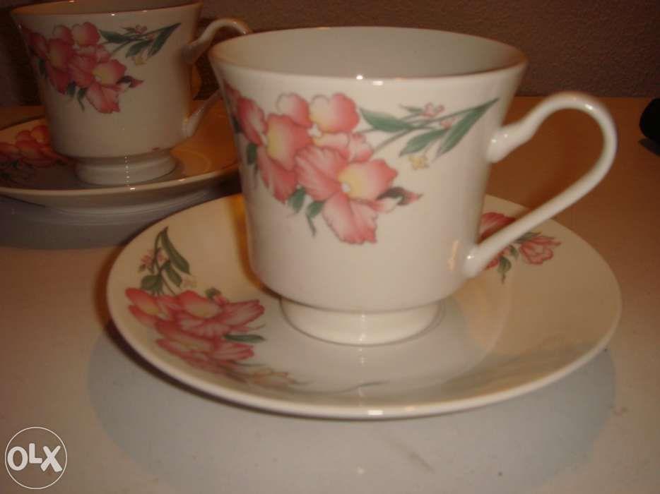 Serviço de chá,porcelana, NOVO Lamego (Almacave E Sé) - imagem 2