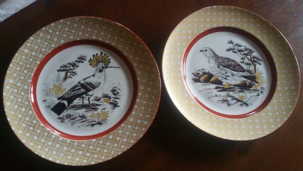 2 pratos decoração Saks Fifth Av.