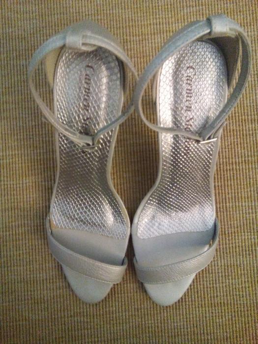 Sandalias Prateadas Calçado em Porto OLX Portugal