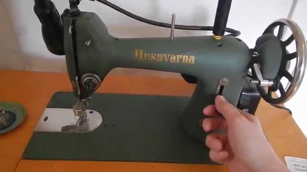 Máquina de Costura Husqvarna 705 15-1 / Sewing Machine Husqvarna 15-1