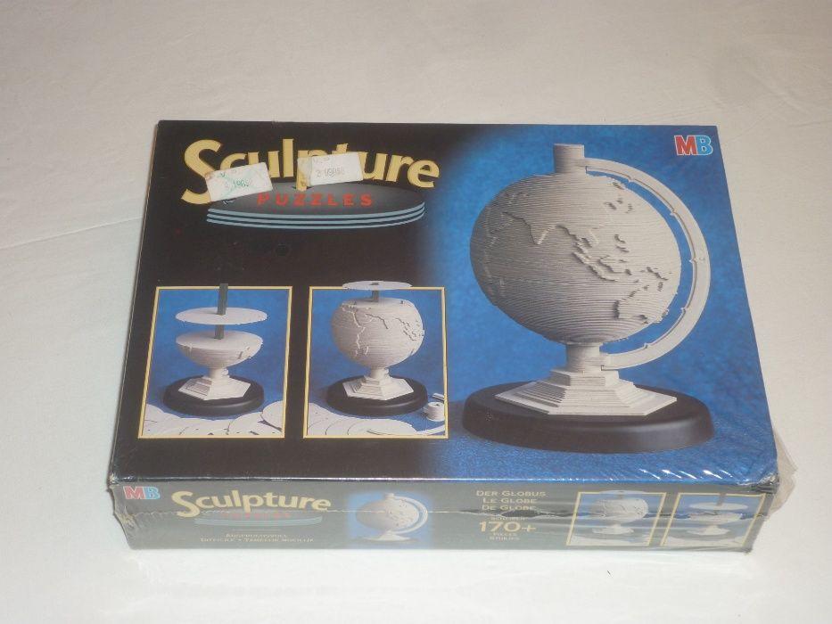 "Puzzle 3D Sculpture Puzzle ""O Globo"" da MB em embalagem selada"