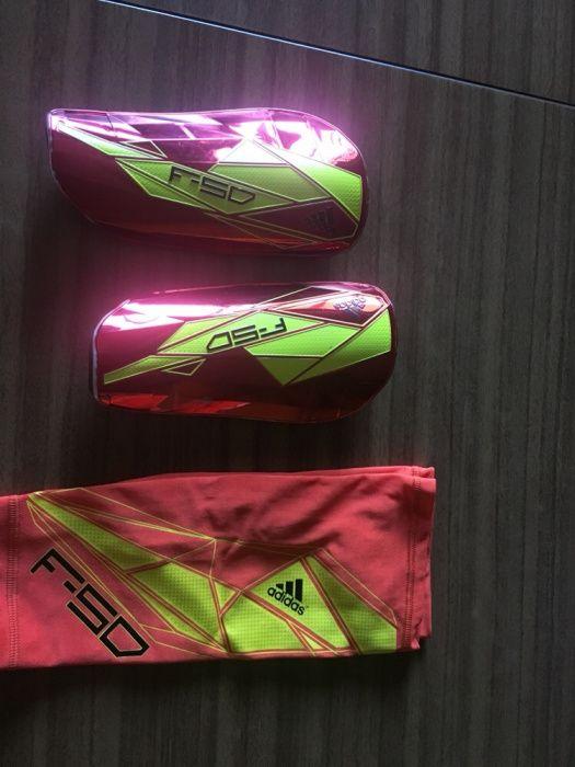 Caneleiras Adidas F50 Pro Lite