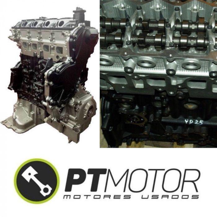 Motor Nissan 2.5 YD25 reconstruído