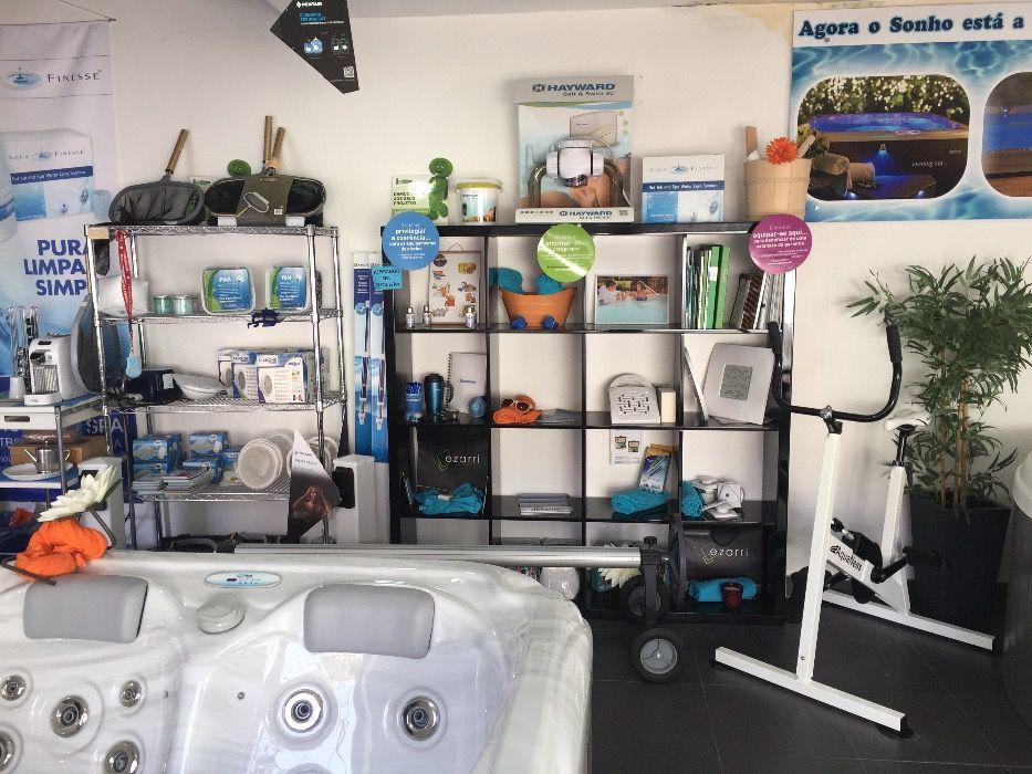 bicicleta saldos aquatica cascais piscinas e spas desporto