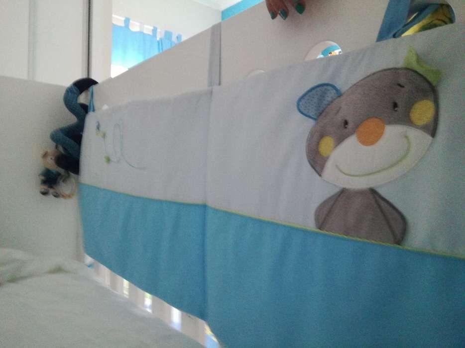 Conjunto de 3peças para cama de bebé menino