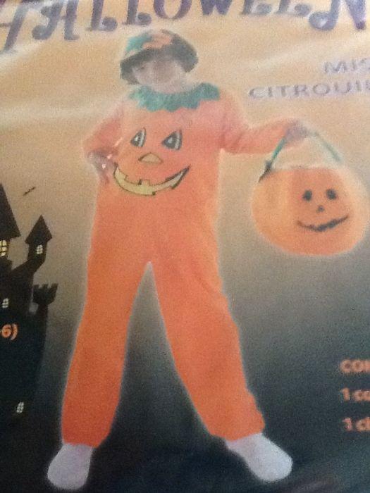Fato carnaval Halloween