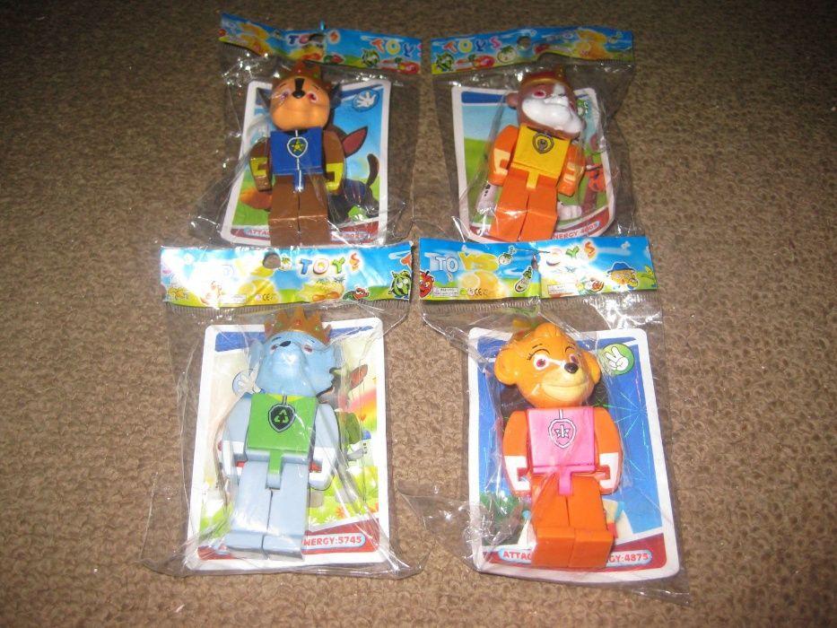 """4 Figuras """"Paw Patrol(Patrulha Pata)"""" Novas e Embaladas!"""