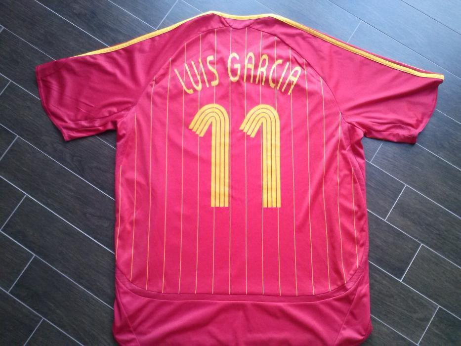 Camisola de Futebol - Seleção de Espanha - Luis Garcia  11 9b13cf68bb7cb