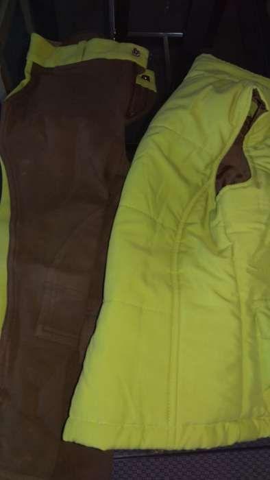 Colete e calças equitação criança