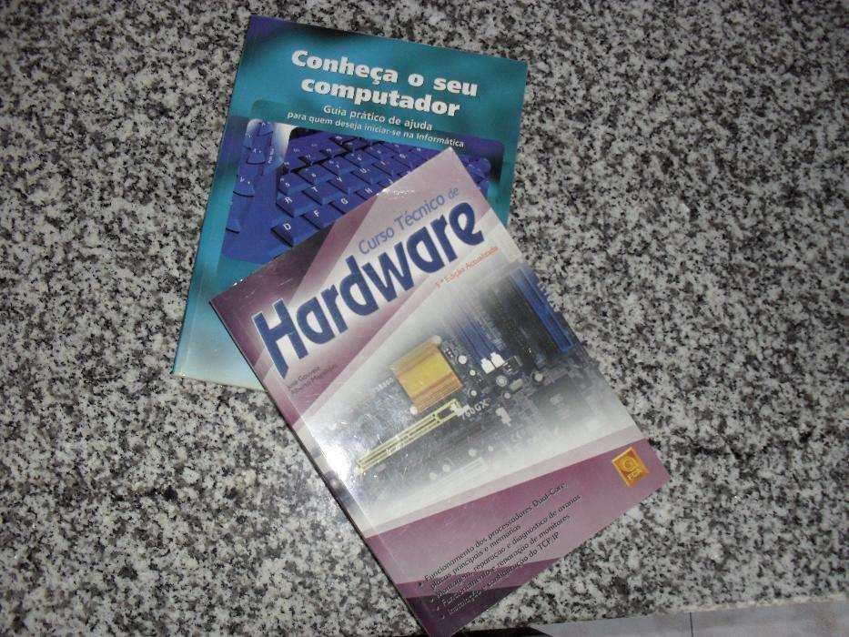 Livros curso técnico de hardware