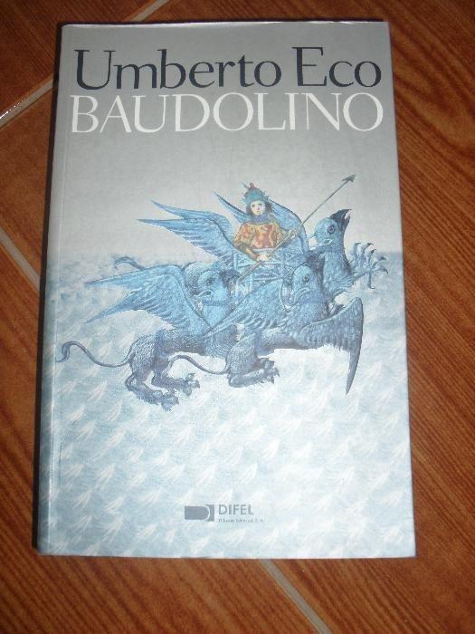 Livro Baudolino de Umberto Eco