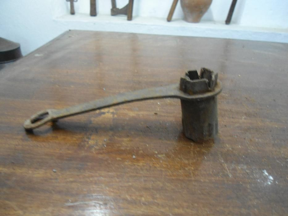 chave de velas antiga