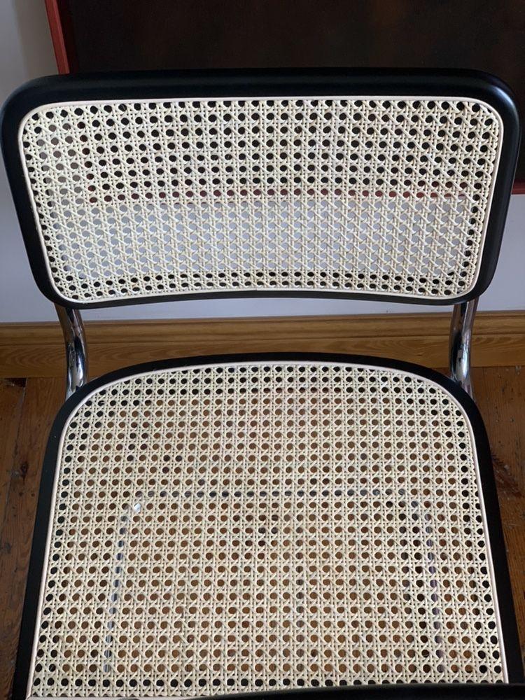 Cesca chair Marcel Breuer Bauhaus kpl 4 krzeseł Nowe