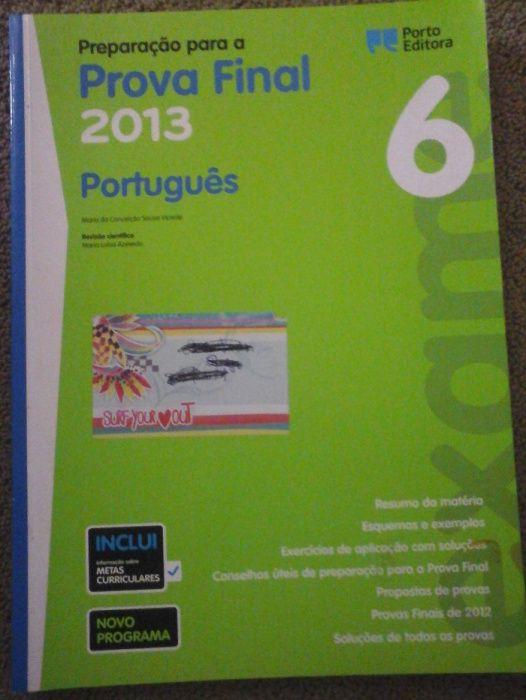 Preparação Prova Final Português 6º ano