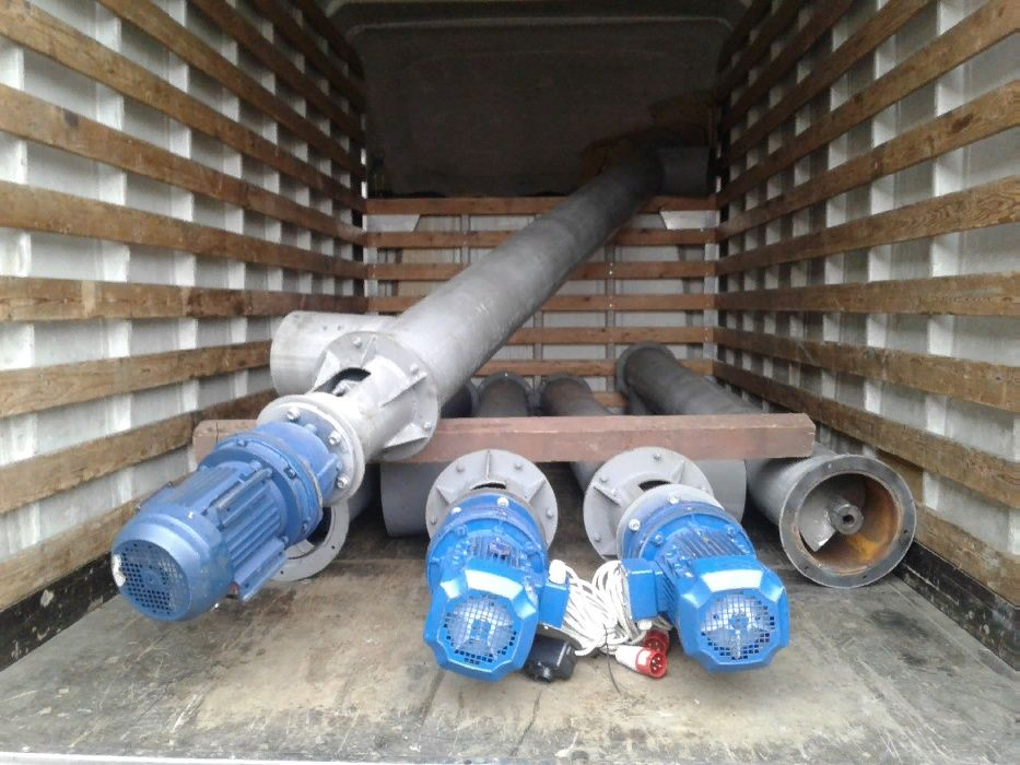 шнековый транспортер цемента