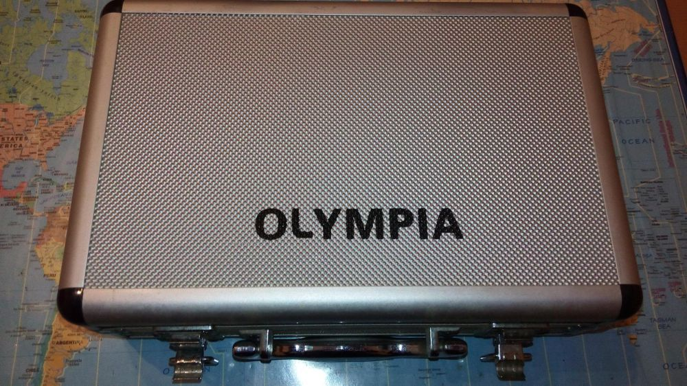 Máquina fotográfica digital Olympia