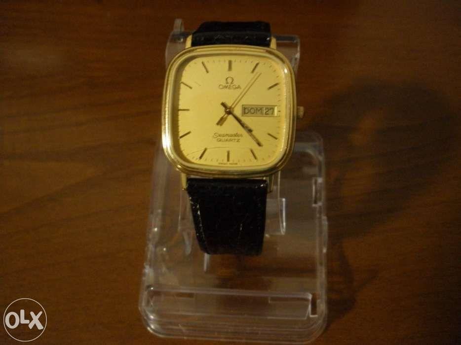0d3737e627c Relógio Omega Seamaster Quartz plaquê Ouro
