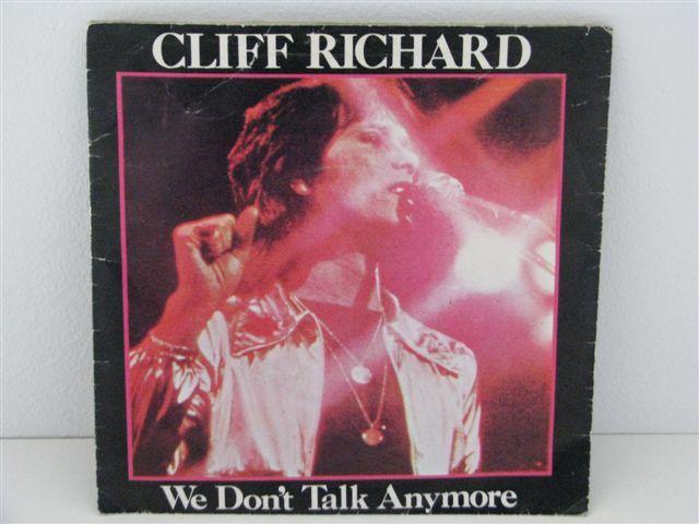 Vinil Single Cliff Richard - We don't talk anymore