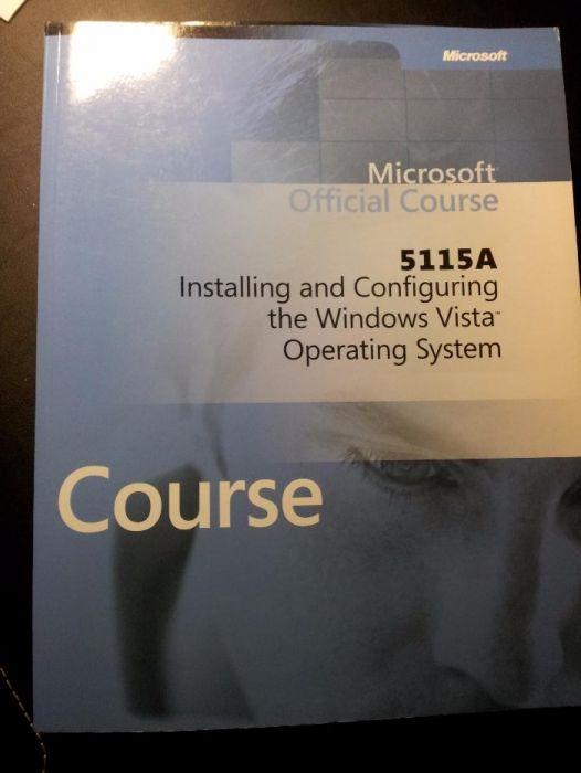 Windows Vista Curso - Livros e Cd's Originais Microsoft - M5115, M511
