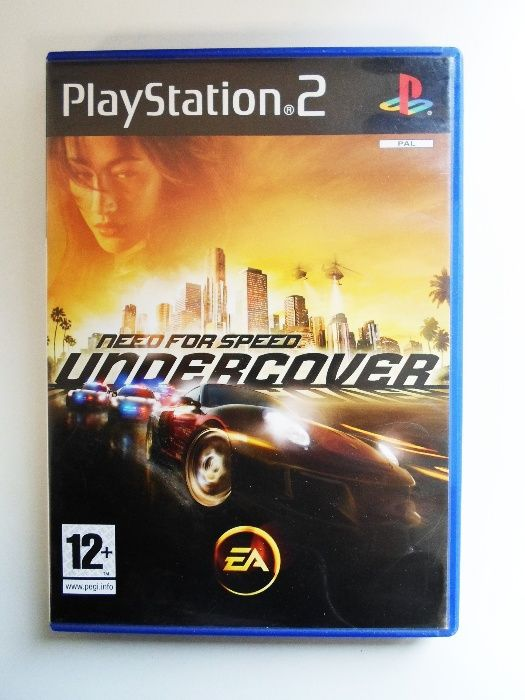 Jogo PlayStation 2 // Need For Speed Undercover
