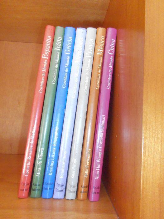 """Colecção 7 livros sobre o tema """"Cozinhas do Mundo"""""""