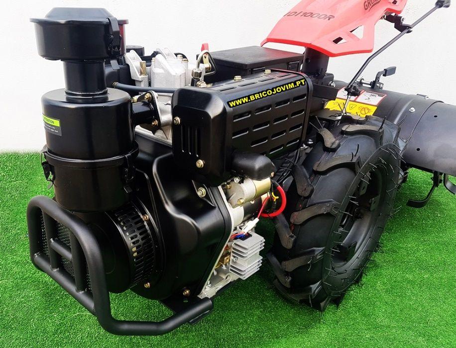 Motocultivadores Novos 10 Cv Diesel - Fresa 80cm - Motor Arranque Gondomar - imagem 6