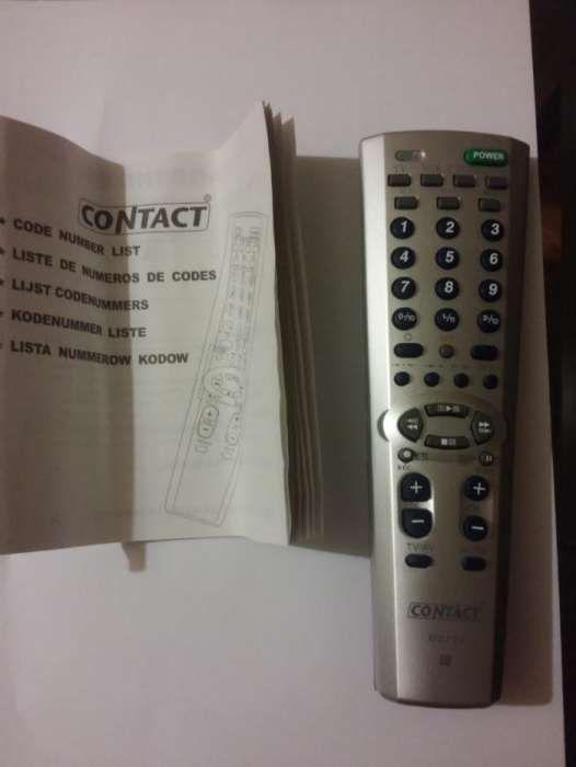 Comando de televisão universal Contact