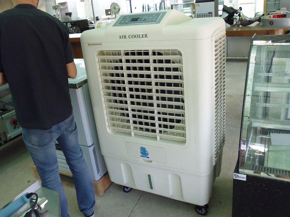 Resfriador evaporativo a agua e gelo