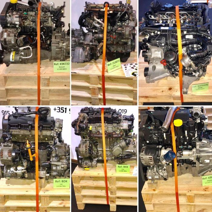 Motores Usados com GARANTIA