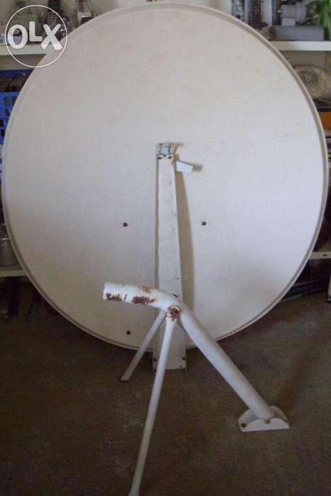 parabolica 120 completa com receptor digital