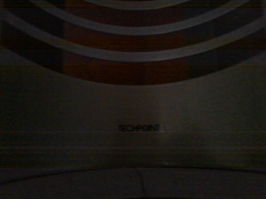 Expositor de cds de loja metálico Techpoint para para 60 cds