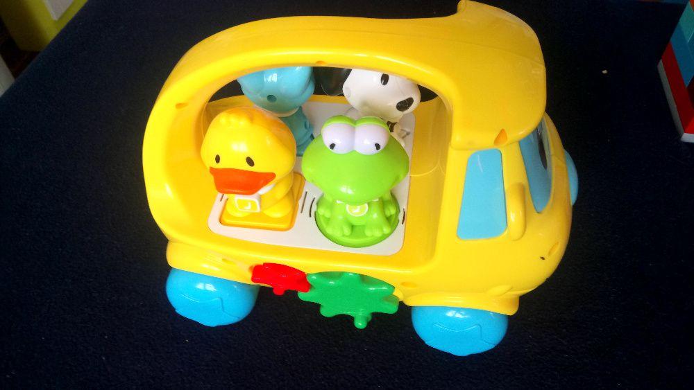 SMIKI Autobus Interaktywna zabawka sorter muzyczny IDEALNY